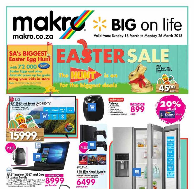 Makro: Easter Sale