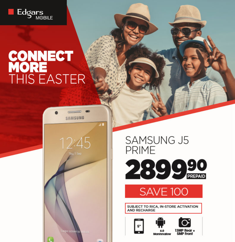 Edgars Mobile: Easter Specials