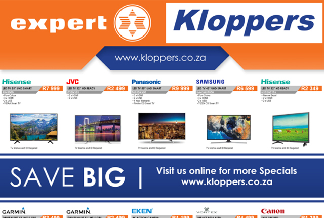 Kloppers: Weekly Specials