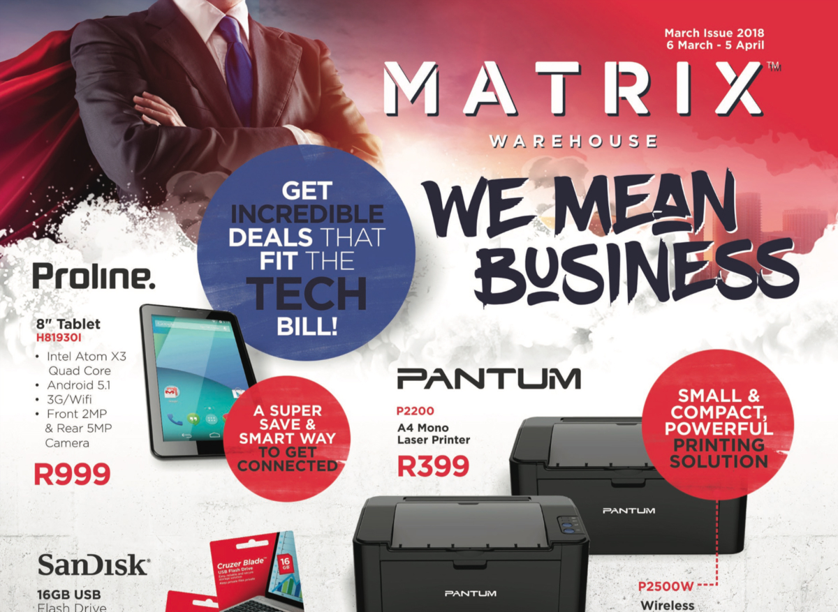 Matrix Warehouse: Latest Promotions