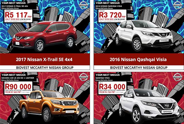 Bidvest McCarthy: Nissan