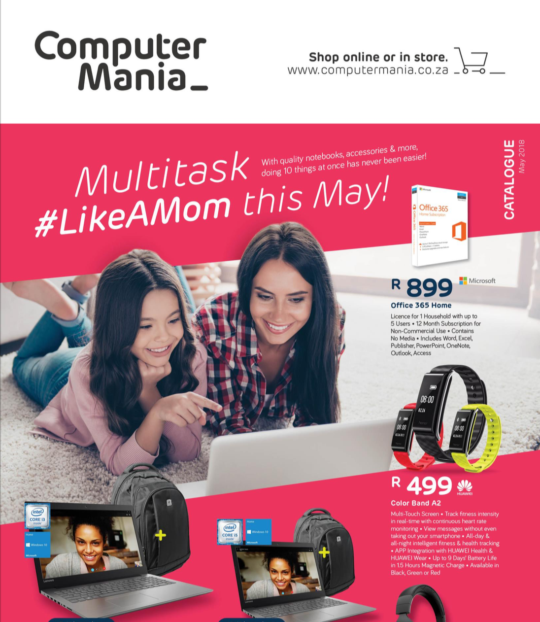 Computer Mania: May Promotions