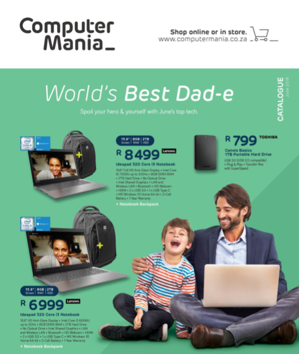 Computer Mania: June Promotions