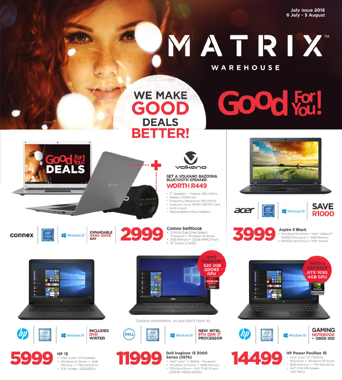 Matrix Warehouse: Latest Promotions