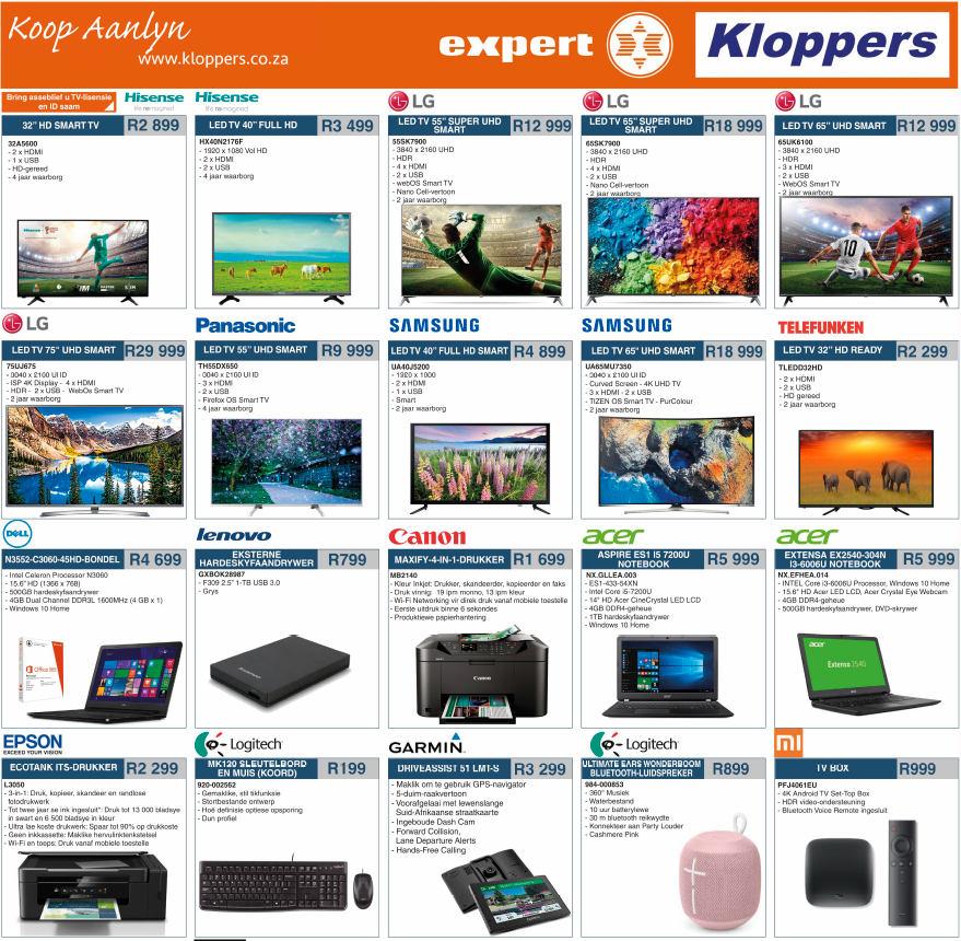 Kloppers: Latest Promotions