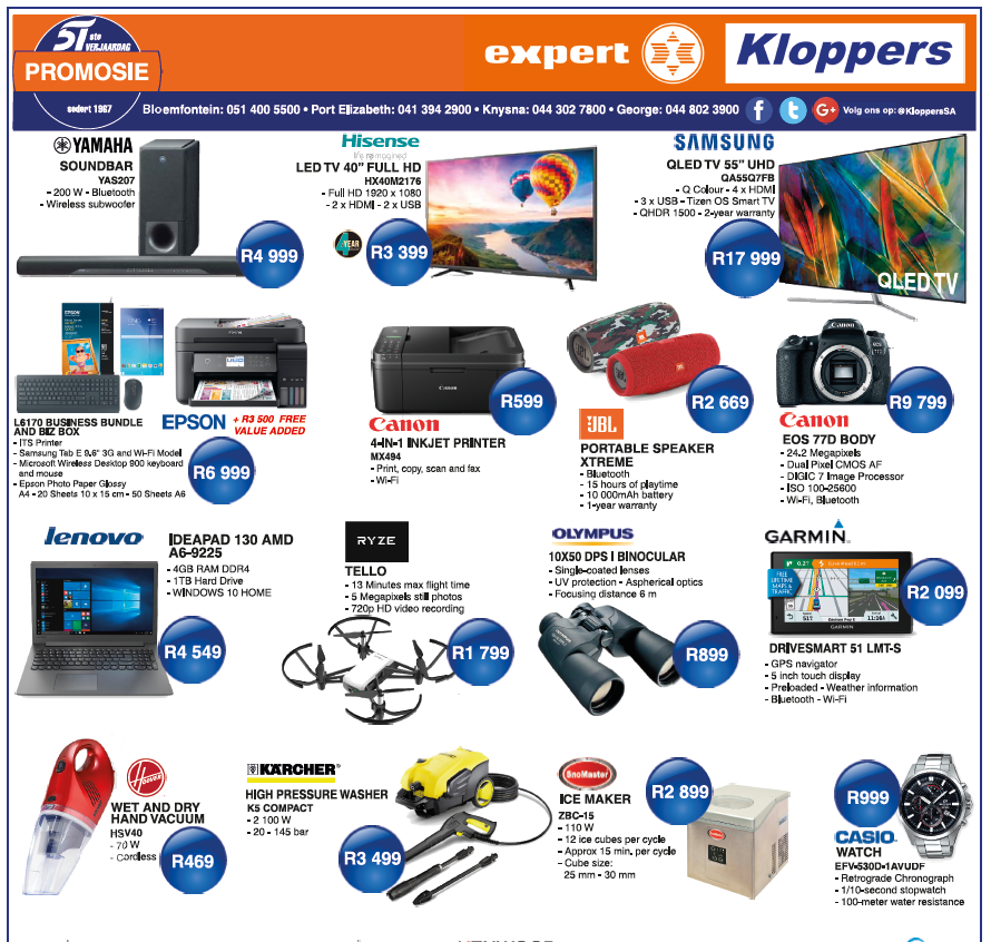 Kloppers: Birthday Promotions