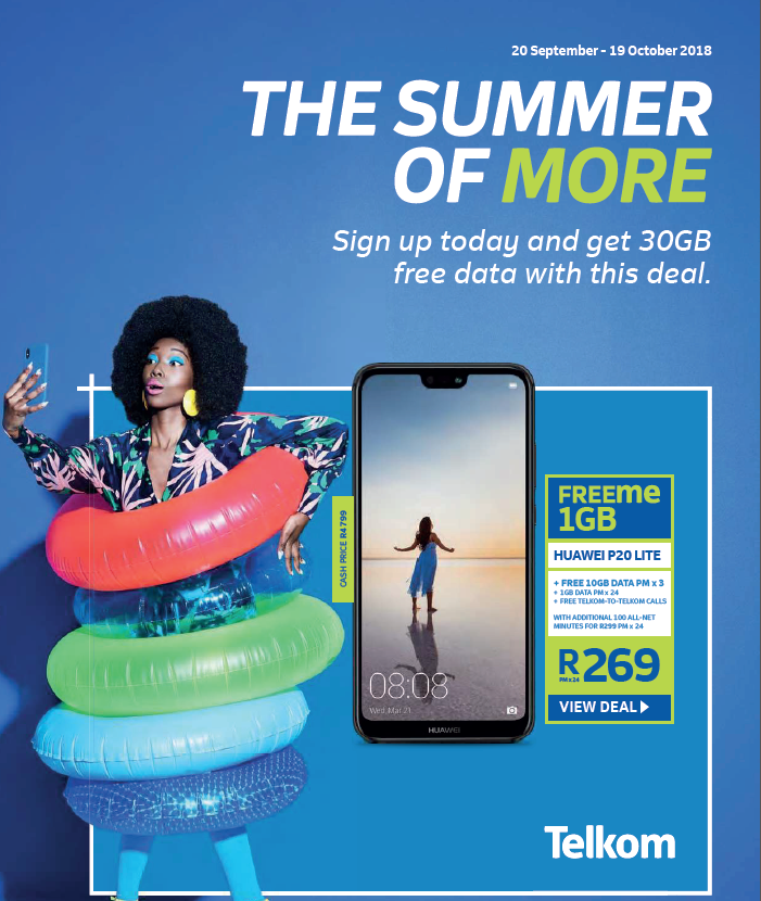 Telkom: Summer Promotions