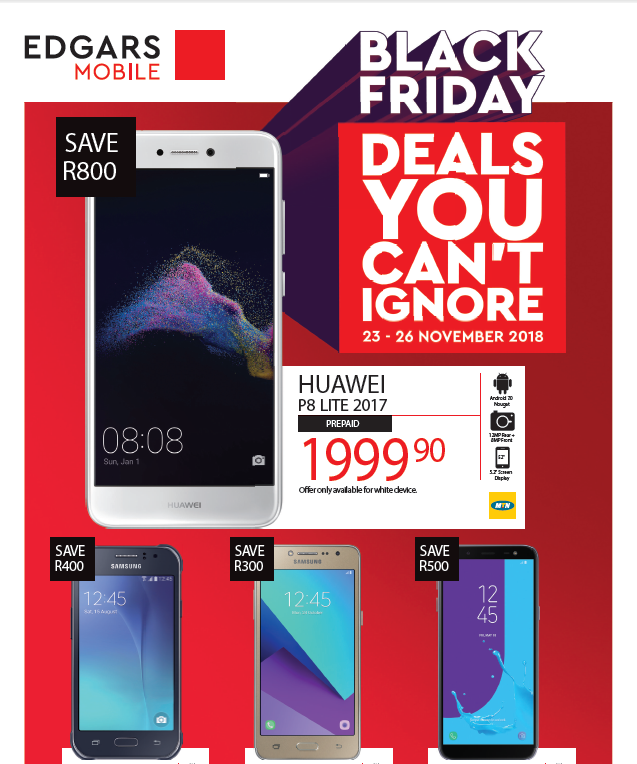Edgars Mobile: Black Friday Promotions