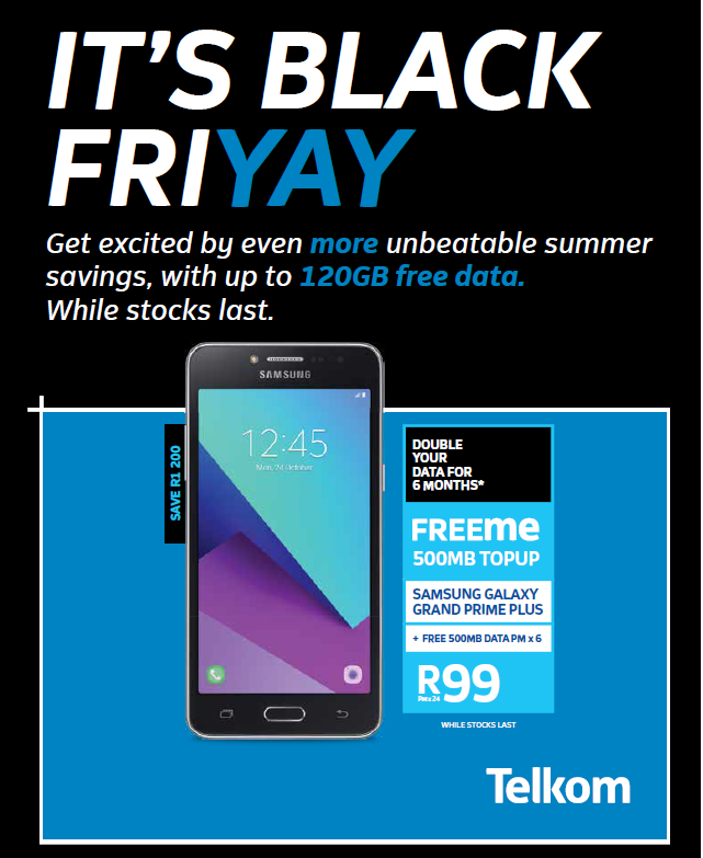 Telkom: Black Friday Promotions