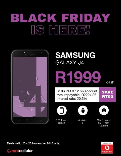 Mr.Price Mobile: Samsung Black Friday Deals