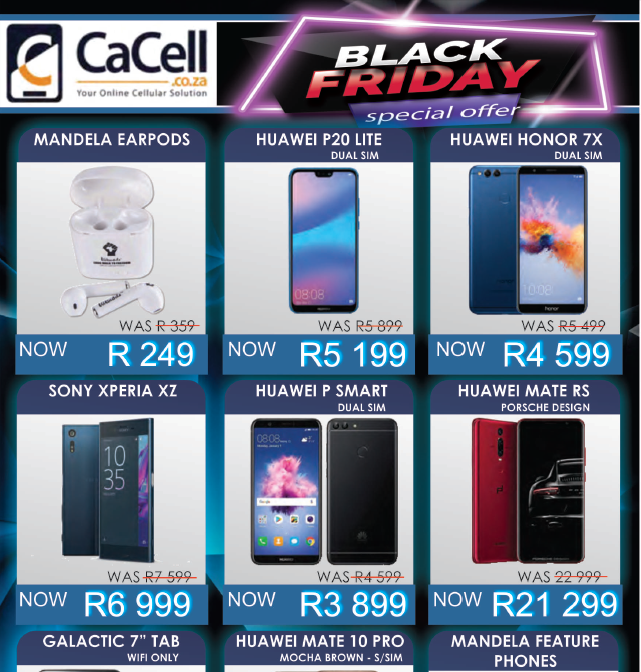 CaCell: Black Friday Promotions