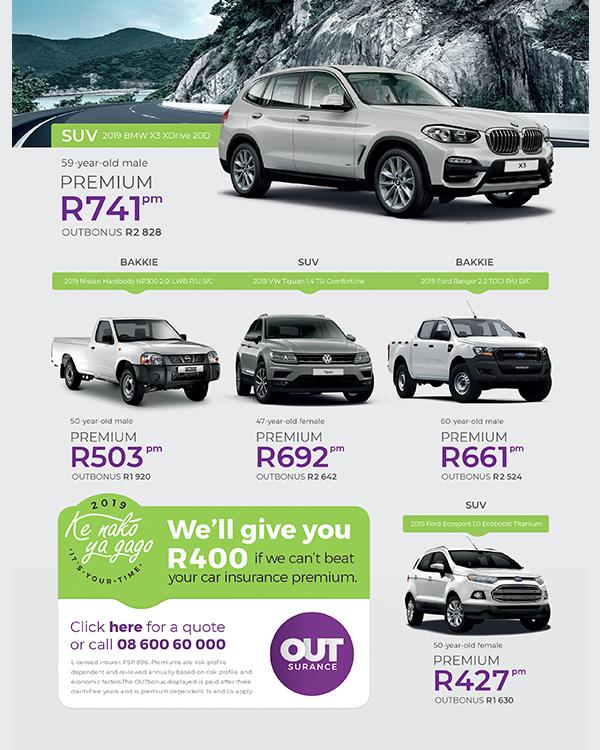OUTsurance: Car insurance deals