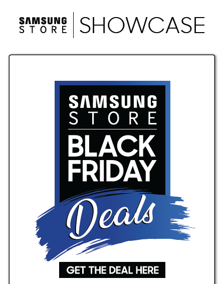 Samsung: Black Friday Promotions