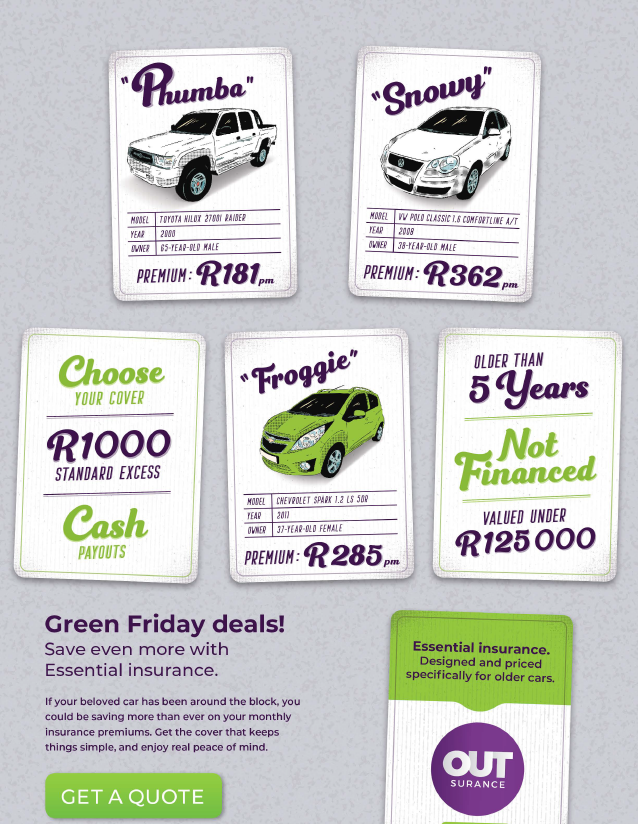 OUTsurance: Green Friday Deals