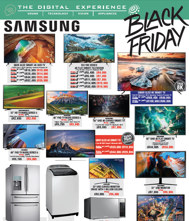 The Digital Experience: Black Friday Promotions