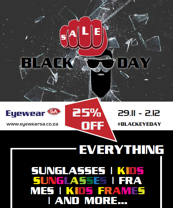 EyewearSA: Black Friday Promotions