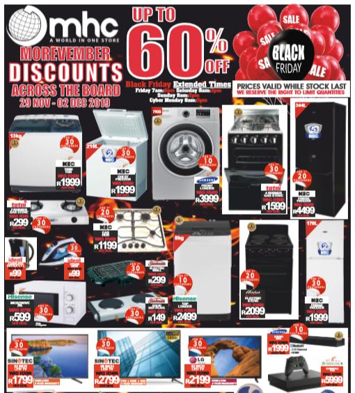 MHC World: Black Friday Promotions