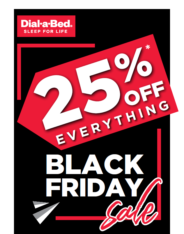 Dial-a-Bed: Black Friday Promotion
