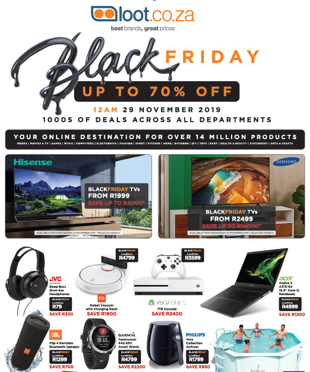 Loot: Black Friday Promotions