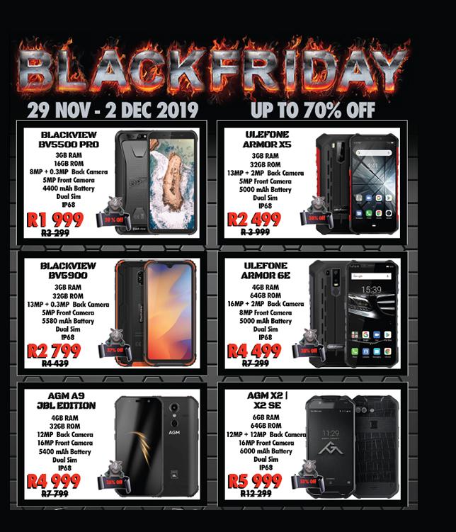 Rugged SA: Black Friday Promotions